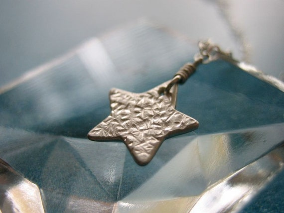 Little Star Sterling Silver Necklace