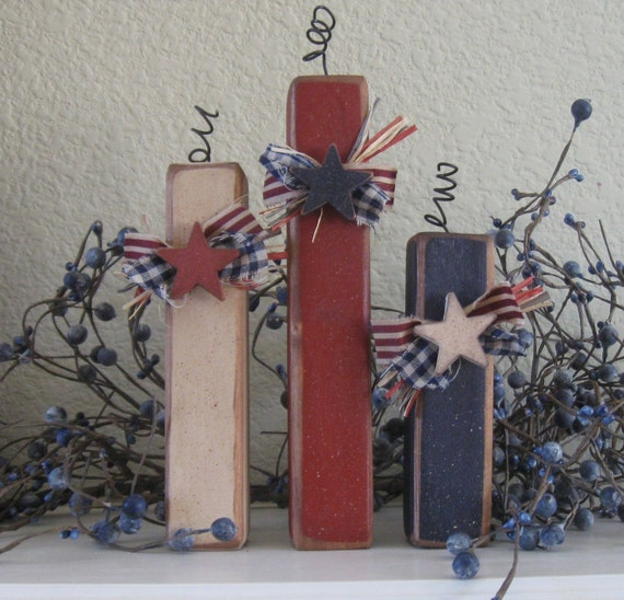 May The Fourth Be With You Wedding Favors: Items Similar To Summer Decor-Primitive Americana