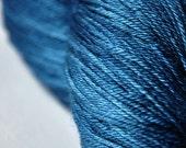 Freak wave OOAK - Merino/Silk yarn fingering weight