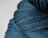 Storm night - Merino Superwash Yarn Fine Lace weight