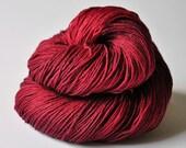 Lost heart OOAK- Merino/Silk superwash yarn fingering weight