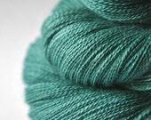 Old mint chewing gum - BabyAlpaca/Silk Lace Yarn