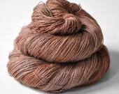 Baking cinnamon roll - Baby Alpaca / Silk yarn lace weight