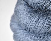 Stormy sea OOAK - Baby Alpaca / Silk yarn lace weight