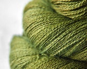 I know what happened to the olive OOAK - Baby Alpaca / Silk yarn lace weight