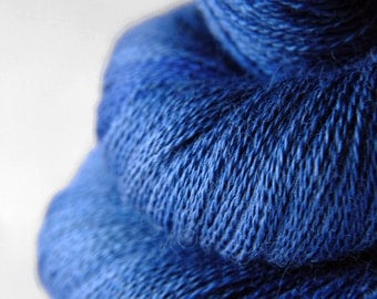 Ground sapphire - BabyAlpaca/Silk Lace Yarn
