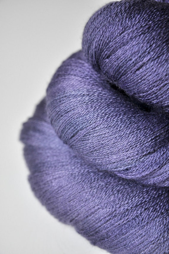 Withering meadow flowers OOAK - Merino/Silk/Cashmere Yarn Fine Lace weight