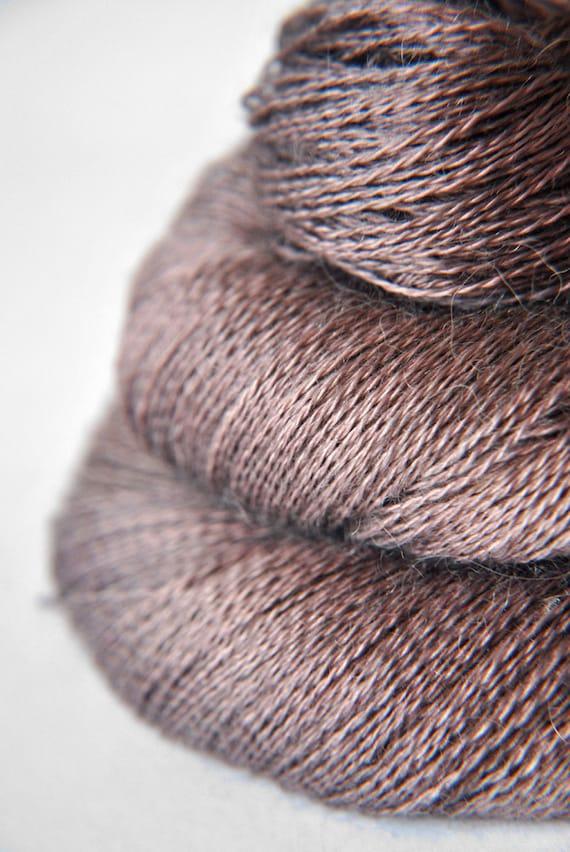 Opening Pandora's Box - Baby Alpaca / Silk yarn lace weight