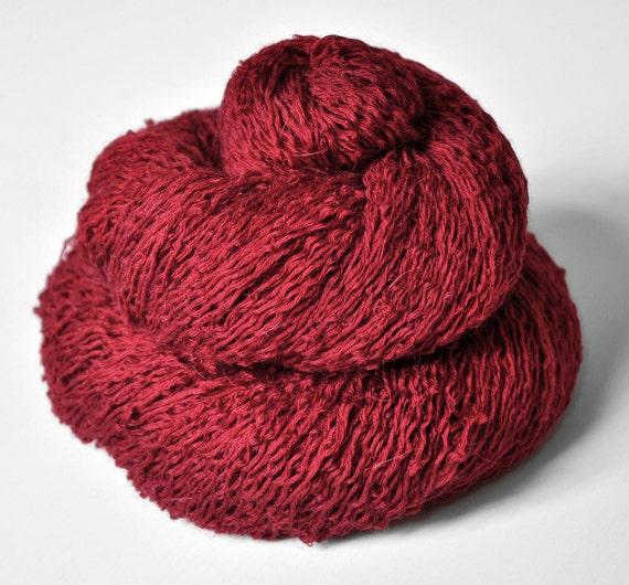 Poisoned blood - Silk/BabyCamel/Merino Yarn Lace weight