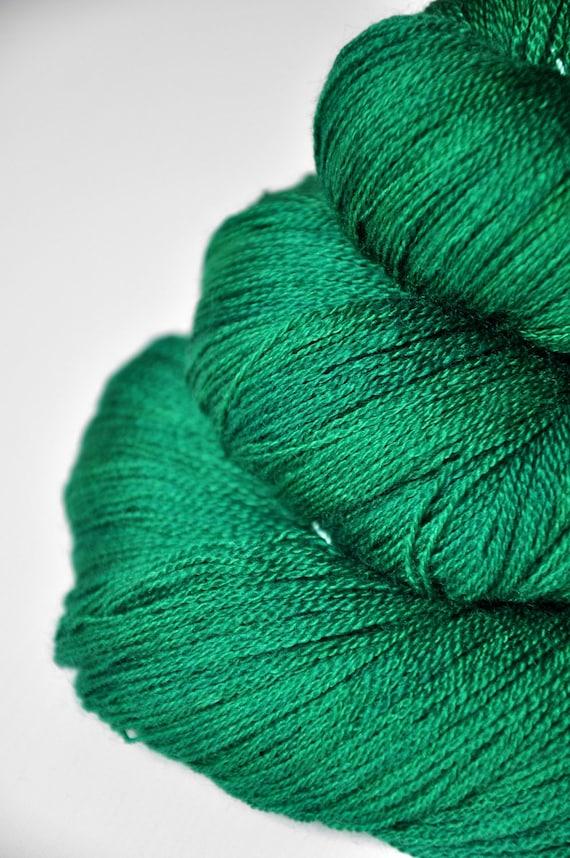 Absinthe - Merino/Silk/Cashmere Yarn Fine Lace weight