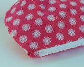 Large Zippered Pouch in Stampin Up Flirtatious Pink fabric