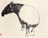 SMALL PRINT/ baku dream eater Japanese style illustration