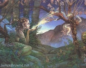 Dawn Fairy 8.5x11 Signed Print