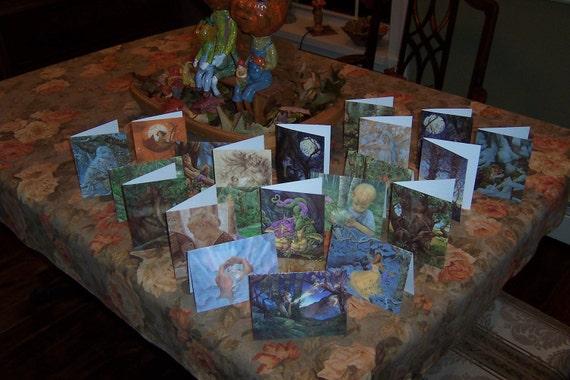 Set of 10 YOU CHOOSE James Browne Greeting Cards