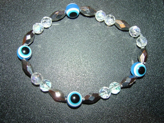 Evil Eye Protection Bracelet,Blue Cobalt