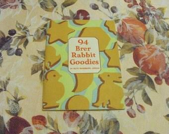 SALE Vintage Brer Rabbit Molasses Rabbit Goodies Cookbook