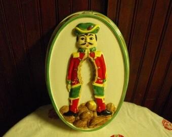 Vintage Sigma the Tastesetter The Nutcracker Christmas Mold/Wall Hanging