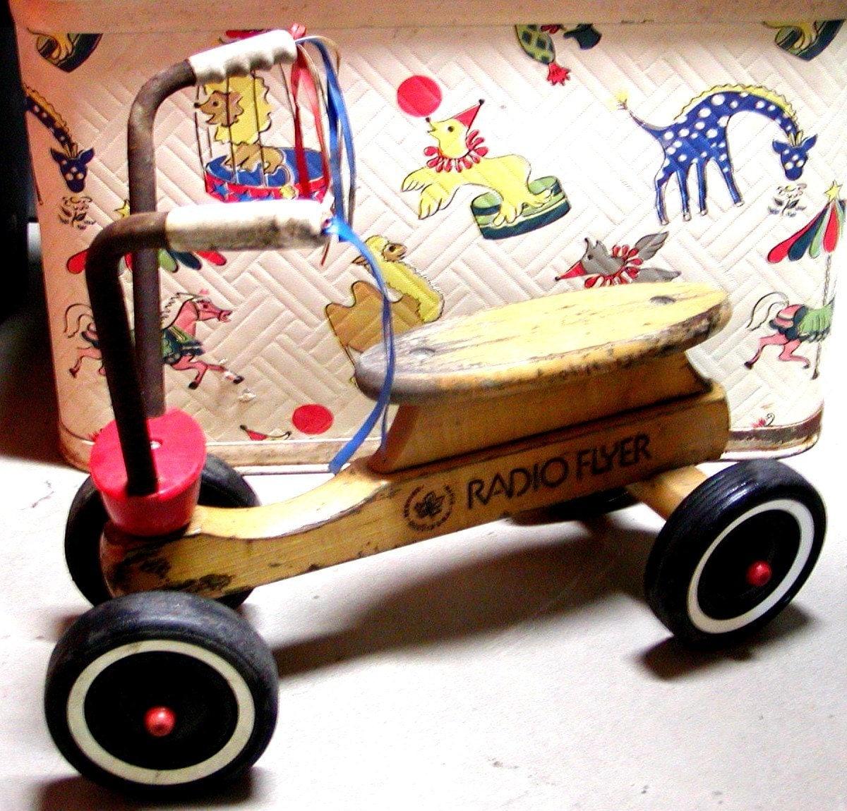 Vintage Radio Flyer Wooden Trike - 345.3KB