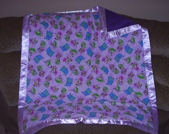 Baby Blanket Made With FAIRLY ODD PARENTS Fabric