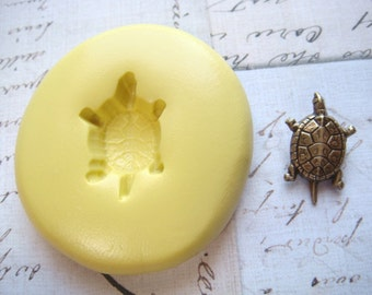 TURTLE (small) - Flexible Silicone Mold - Push Mold, Polymer Clay Mold, Resin Mold, Crafting Mold