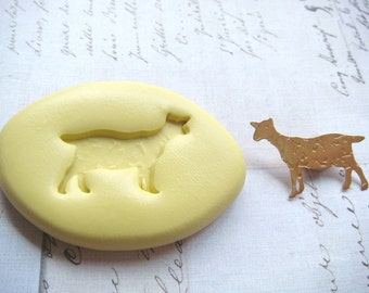 GOAT - Flexible Silicone Mold - Push Mold, Polymer Clay Mold, Pmc Mold, Resin Mold, Clay Mold