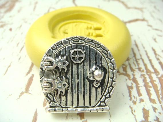 Fairy Door Series (design 1) - Flexible Silicone Mold - Push Mold, Polymer Clay Mold, Resin Mold, Clay Mold, Jewelry Mold