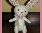 Felt Plush Bunny Doll....Easter