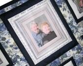 Custom Made Photo Memory Quilt Wall Hanging