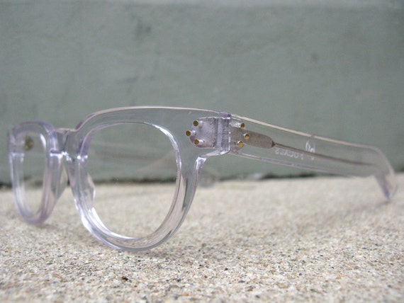 Old Focals brand FDRs Clear Eyeglasses 50's style as worn by Gary Oldman - FREE DOMESTIC SHIPPING