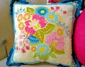 Square Dance Pillow - Sweet