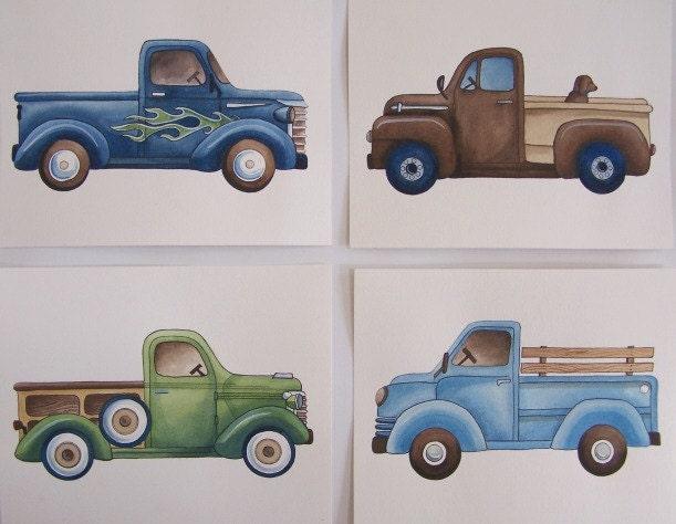 Vintage Truck Art 36