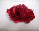 Reserved Listing for Jen - Red Flower