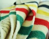 Reserved......Vintage wool blanket