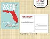 Save-the-Date Postcard (State) - Customize It/Print Unlimited