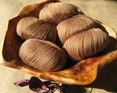 SALE - Wool Blend Yarn - Nutmeg