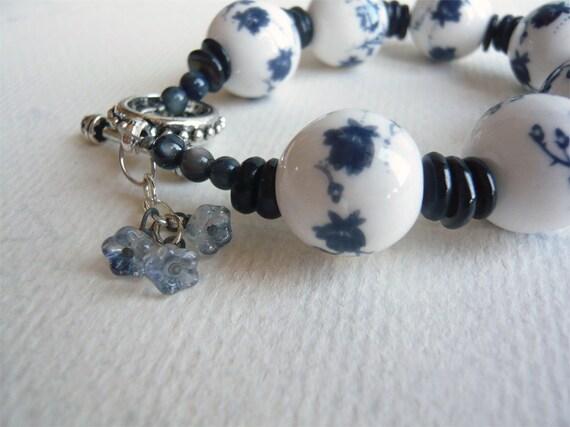 Blue Delft Bracelet