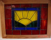 Stained Glass Sunshine Panel