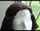 Silver Indian Tikka Head Jewelry for Renaissance or Medieval Faires