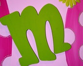 Personalized girls sign for bedroom or door - totally custom - 16x20
