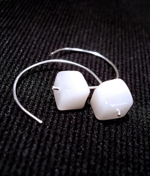 Shell Cubes - Earrings