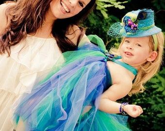 Atutudes Create Your Own Custom Tutu Dress for Wedding, Flower Girl, Birthday Party, Photographs