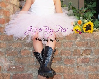 Pink Tutu by Atutudes | Pink Tulle Skirt | Tutu Skirts for Girls | Baby tutu | Baby Gift | Baby tutus | tutu | tutu skirt | Cotton Candy