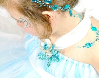 Snow Queen Tutu Dress by Atutudes