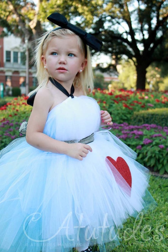 Alice In Wonderland Birthday Party Alice Tutu Dresses