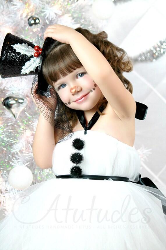 Kids Christmas Outfit | Girls Christmas Outfit | Gifts for Kids | Girls Holiday Outfit | Christmas Dress | Snowman Tutu Dress