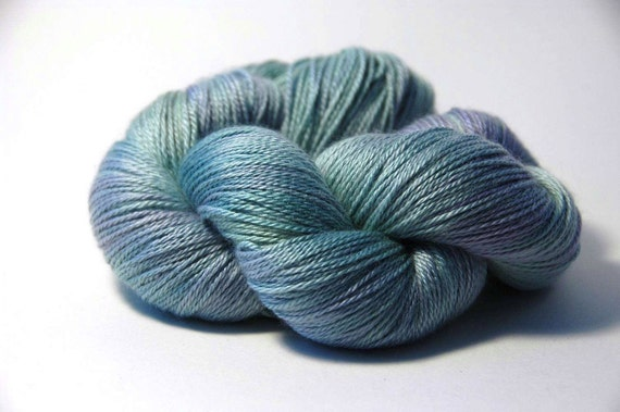 Cashmere Silk in Water Nymph OOAK