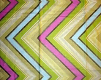 Pop Garden: Lime Zag Stripe by Heather Bailey for Free Spirit 3/4yard