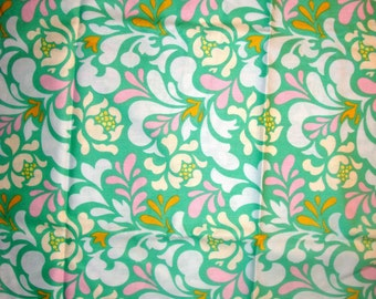 Pop Garden: Turquoise Sway by Heather Bailey for Free Spirit 1/4yard