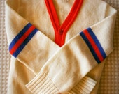Vintage boy's athletic style sweater