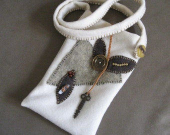 Steampunk Goes to the Opera Bag  OOAK